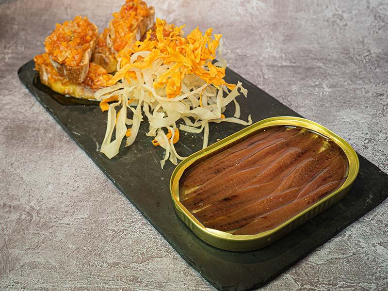 Anchoa seleccionada   Restaurante asturiano Couzapín