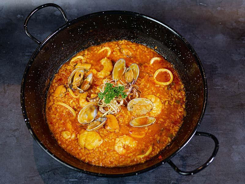 Arroz meloso al estilo marinero | Restaurante asturiano Couzapín