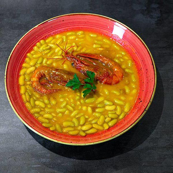 Verdinas con carabineros | Restaurante asturiano Couzapín